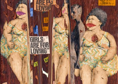 Girls are for Loving, 2017, Ed.1/5+2AP, Archival pigment print, 27 x 37 in.