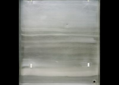 Adam Fuss' Developer Tray, 2011. Framed pigment print mounted