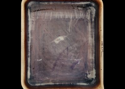 Emmet Gowin's Developer Tray, 2010. Framed pigment print mounted