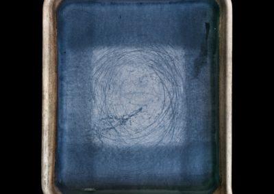 Linda Connor's Developer Tray, 2011. Framed pigment print mounted