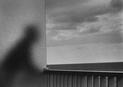 Kertész, André, The Balcony, Martinique, 1972, Vintage gelatin silver print, 7 1/2 × 9 3/4 in. (19.1 × 24.8 cm)