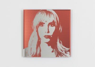 Lais Pontes, Shena, 2016, UV Print direct on Mirror, 11 13/16 x 11 13/16 inches