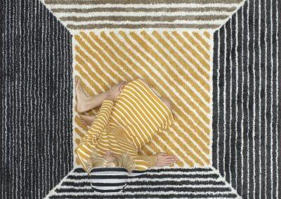 Margeaux Walter, Floored, 2016, C-print, 40 × 40 in. (101.6 × 101.6 cm)