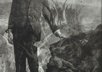 Edmund Teske, Kenneth Anger, 1954, Vintage silver gelatin print, 6 3/4 × 4 3/4 inches