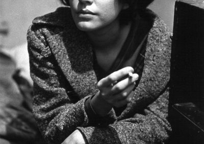 Larry Clark, Untitled (woman smoking) from Tulsa, 1963, printed 1980, Gelatin silver print, 12 3/8 × 8 1/8 in (31.4 × 20.6 cm)