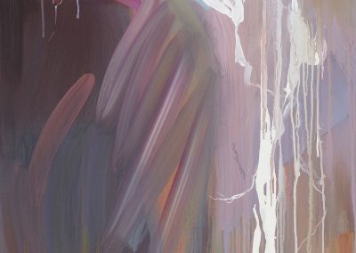 Rebecca Campbell, Bolt 2, 2011 Oil on canvas 48 × 29 inches