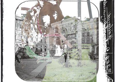 Milano Kaunas, 2014, Ultrachrome K3 pigment inkjet print, 16 53/100 × 23 39/100 inches, Edition of 5 + 2AP