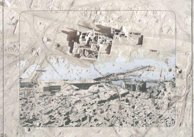 Napoli Egypte, 2014, Ultrachrome K3 pigment inkjet print, 16 53/100 × 23 39/100 inches, Edition of 5 + 2AP