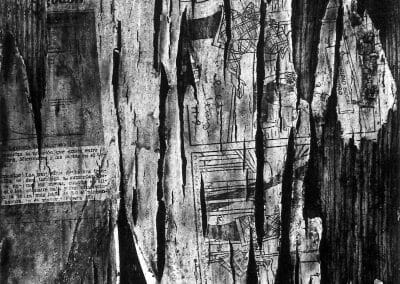 Aaron Siskind, Durango, Mexico 15, 1961, Gelatin silver print, 13 1/4 x 9 inches