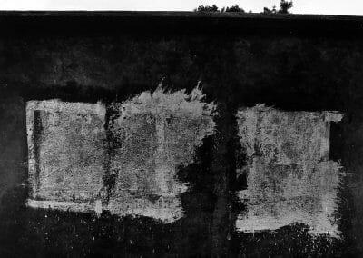 Aaron Siskind, Uruapan 11, 1955, Gelatin silver print, 9 3/4 × 12 3/4 inches