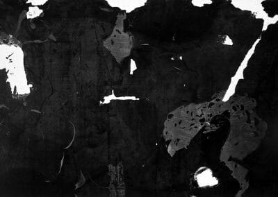 Aaron Siskind, Wickenberg, Arizona, 1949, Gelatin silver print, 11 x 14 inches