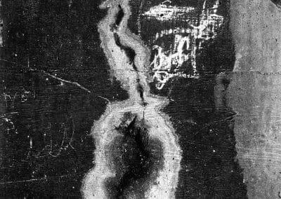 Aaron Siskind, Chicago 10, 1948, Gelatin silver print, 16 1/2 x 11 1/2 inches