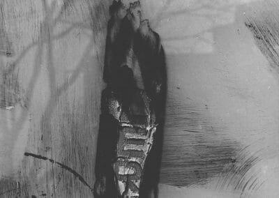 Aaron Siskind, Chicago 22, 1960, Gelatin silver print, 14 x 11 inches