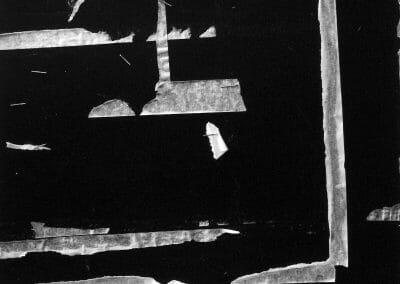 Aaron Siskind, New York 16, 1951, Gelatin Silver print, 9 7/8 × 10 inches