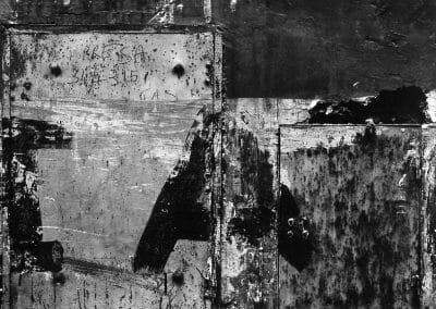 Aaron Siskind, Rome 71, 1963, Gelatin silver print, 11 x 14 inches