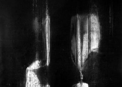 Aaron Siskind, West Street, 1950, Gelatin silver print, 16 x 20 inches