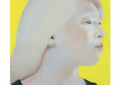 Katinka Lampe, 5065184, 2018, Oil on linen, 25 3/5 × 19 7/10 inches