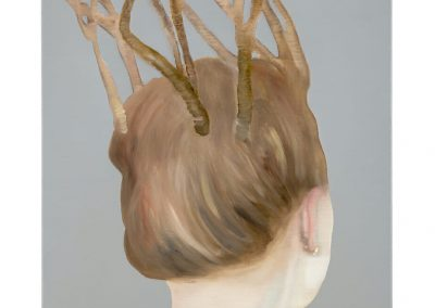 Katinka Lampe, 6080179, 2017, Oil on linen, 31 1/2 × 23 3/5 inches