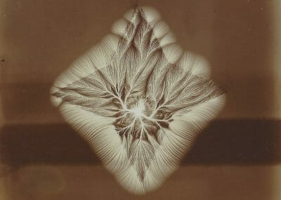 Johann Bohm, Untitled (Magnetic Field), c. 1920, Gelatin silver print, 3 1/2 x 3 1/2 in., contact gallery for price