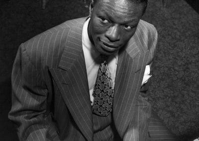 William Gottlieb, Nat Cole, c. 1947, Gelatin silver print. 14 in x 11 in, contact gallery for price
