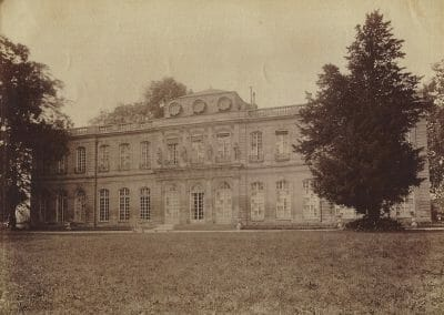 Eugene Atget, Chateau, c. 1910, Albumen contact print, 6 7/8 x 8 5/8 in., contact gallery for price
