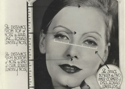 Vernacular, Greta Garbo, c. 1930, Gelatin silver print, 9 1/4 x 7 3/8 in., contact gallery for price