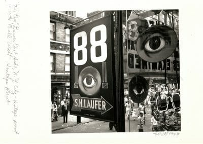 Bill Witt, The Eye, 1948, Gelatin silver print, 7 × 7 1/2 in (17.8 × 19.1 cm), contact gallery for price