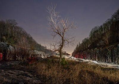 Mark Lyon, Mile 55.6 E, East Fishkill, NY, 2018, Archival pigment print