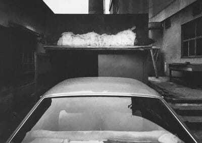 Jack Welpott, Tokyo, 1976, Vintage silver gelatin print, printed in 1983, 11 13/16 x 9 in., Signed, titled and dated by artist in pencil on recto, Signed in pencil by artist on verso.
