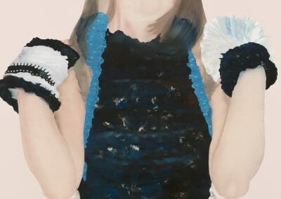Katinka Lampe, 1318192, 2019, Oil on canvas, 70 3/4 x 51 1/8 inches