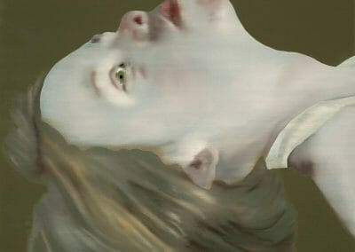 Katinka Lampe, 5065190, 2019, Oil on linen, 25 1/2 x 19 5/8 inches