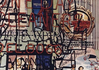 Arthur Siegel, Neon Signs, 1983, Dye Transfer, 9 3/4 x 11 7/8 inches