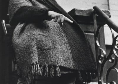 Lisette Model, Woman with Shawl, NYC, 1942, Gelatin silver print; printed 1976, 19 1/2 x 15 3/4 inches
