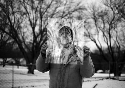 Daniel Coburn, Figuration, 2014, Archival pigment print, 24 x 30 inches