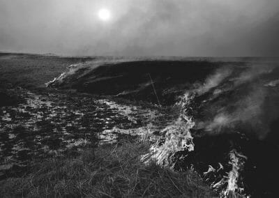 Daniel Coburn, Inferno, 2014, Archival pigment print, 24 x 30 inches