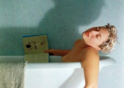 Edburg, Daniela, Death by Shampoo, 2006, Archival ink print, 30 × 45 in