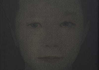Lampe, Katinka, 4055216, 2008-2021, Oil on linen, 21 5/8 x 15 5/8 inches