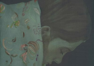 Lampe, Katinka, 5060217, 2021, Oil on linen, 23 1/2 x 19 5/8 inches
